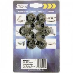 Trailer Cover Plastic Button Cleats-10