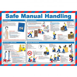 Safe Manual Handling Poster 59cm x 42cm-10