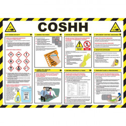 COSHH Awareness Poster 59cm x 42cm-10