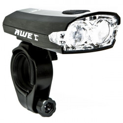 X-Fire LED Front Cycle Light Black 40 Lumen-10