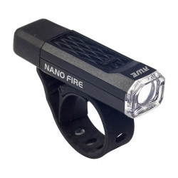 Nano Fire LED Front Cycle Light Black 12 Lumen-10