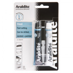 Araldite Steel 2 x 15ml Tubes-10