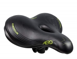 Female Citta Large Cycle Saddle Black-11