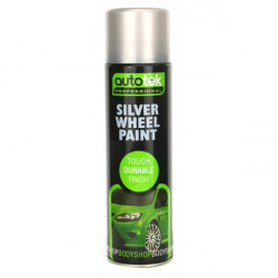 Wheel Paint Silver 500ml-10
