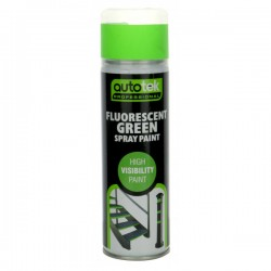 Aerosol Paint Fluorescent Green 500ml-10