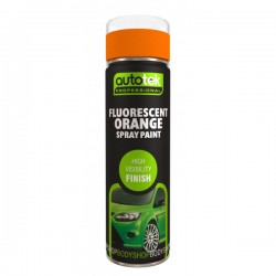 Aerosol Paint Fluorescent Orange 500ml-10