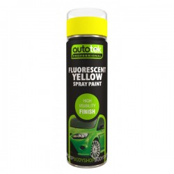 Aerosol Paint Fluorescent Yellow 500ml-10
