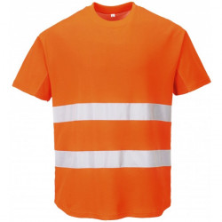 Hi-Vis Mesh T-Shirt Orange XX Large-10