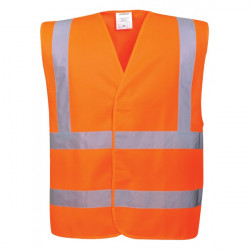 Hi-Vis Vest Orange Large/X Large-10