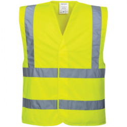 Hi-Vis Vest Yellow Large/X Large-10