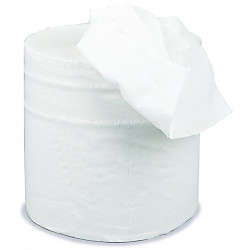 2 Ply White Centrefeed Roll 125m x 190mm Pack of 6-10