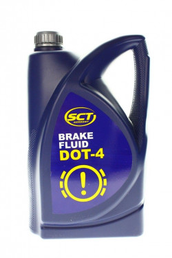 5 Litre Brake and Clutch Fluid DOT-4 by SCT Germany-11