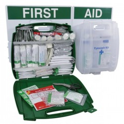 BS Compliant Large Eyewash and First Aid Point-10