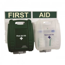 BS Compliant Medium Eyewash and First Aid Point-10