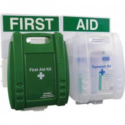 BS Compliant Small Eyewash and First Aid Point-10