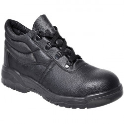 Protector Boots S1P Black UK 9-10