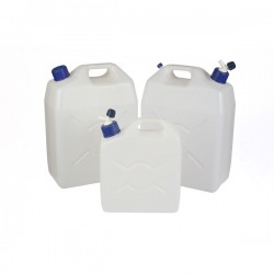 Jerry Can (Screw Cap and Tap) Translucent 25 Litre-10