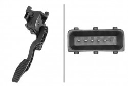 Accelerator Pedal Position Sensor HELLA 6PV 010 946-071-10