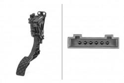 Accelerator Pedal Position Sensor HELLA 6PV 008 496-701-10