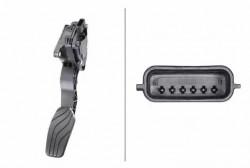 Accelerator Pedal Position Sensor HELLA 6PV 009 978-791-10