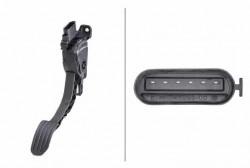 Accelerator Pedal Position Sensor HELLA 6PV 010 834-811-10