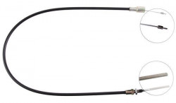 Front Overrun Brake Bowden Cable A.B.S. K41100-10