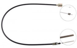 Front Overrun Brake Bowden Cable A.B.S. K41120-10