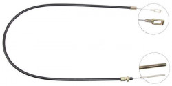 Front Overrun Brake Bowden Cable A.B.S. K41130-10