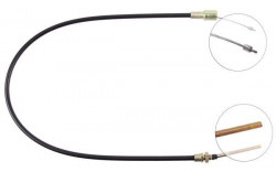 Front Overrun Brake Bowden Cable A.B.S. K41140-10