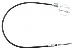 Front Overrun Brake Bowden Cable A.B.S. K41690-10