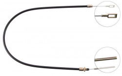 Front Overrun Brake Bowden Cable A.B.S. K41700-10