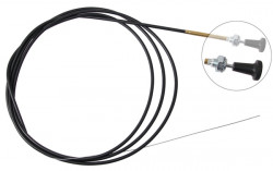 Front Cold Start Control Choke Cable A.B.S. K42030-10