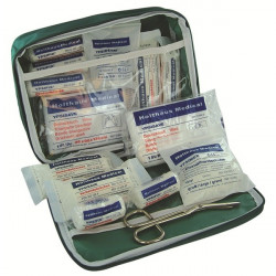DIN Vehicle First Aid Kit in Nylon Case-10