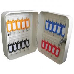 Grey Key Cabinet 20 Key Capacity-10