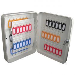 Grey Key Cabinet 60 Key Capacity-10
