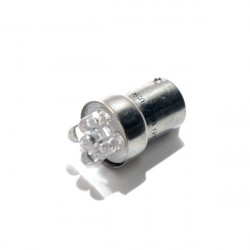 LED Bulb 24V BA15S 5-LED Blue-10