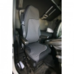Luxury Truck Seat Cover Set Driver and Passenger Volvo FH and FM-10