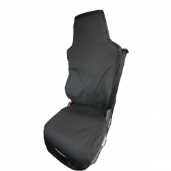 Truck Seat Cover Passenger Black MAN (Without integral seatbelt)-10