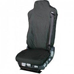 Truck Seat Cover Passenger Black Mercedes and Iveco ISRI 6860/875-10