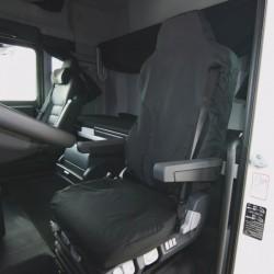 Truck Seat Cover Passenger Black Isringhausen 6860/875 Truck-10