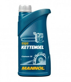 1 litre Mineral Chain Saw Oil for petrol and electric saws MANNOL Kettenoel-11