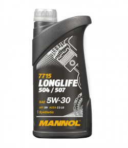 1 Litre LONGLIFE Fully Synthetic 5W-30 OEM Engine Oil MANNOL-11
