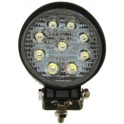 12/24V Spot LED Work Lamp 9 x 3W-10