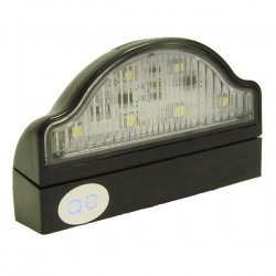 Number Plate Lamp with Clip Base and Cable-10
