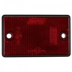 Reflectors Oblong Red-10
