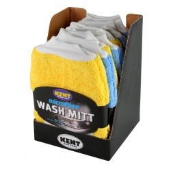 Microfibre Wash Mitt CDU Of 8-10
