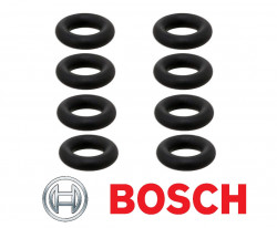 BOSCH (Set of 8pcs) O Ring /Seals for Fuel Injector-11