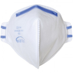 FFP2 Fold Flat Dust Mist Disposable Masks Unvalved Pack of 20-10