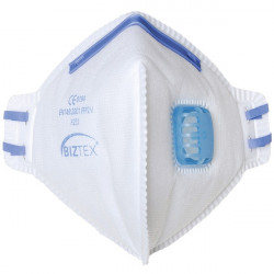 FFP2 Fold Flat Dust Mist Disposable Masks Valved Pack of 20-10