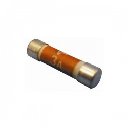 Fuses Household Mains 3A Pack Of 25-10